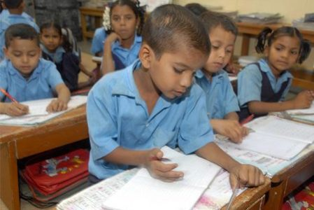 Test for admission to Primary Education